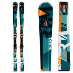 The Volkl RTM 86 UVO is one powerful ride for aggressive skiers looking for the smoothest ride in skiing. Made with the..
