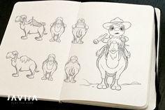 Concept for TIMO's trusted camel Mindy.   Developer blog