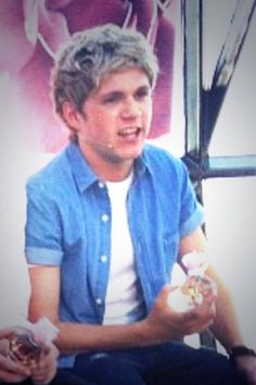 Niall Horan + our moment fragrance. His face...PRICELESS