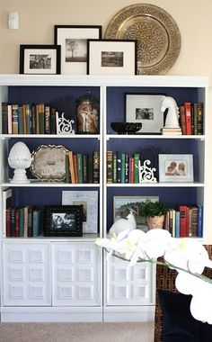 HIGH Five:  5 Tips for Decorating the tops of Bookcases and Armoires