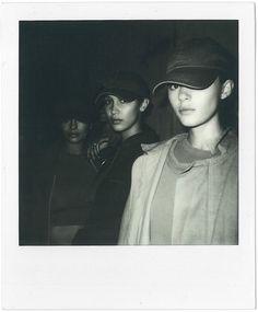 Yeezy SS16 backstage polaroids, Dazed Digital #fashion