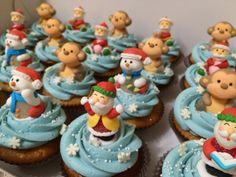 Happy New Year Homemade cupcake