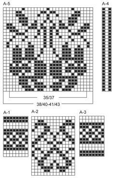 """Kootud DROPSi mustriga sokid lõngast """"Fabel"""". Suurused 35 - 43. ~ DROPS Design"""