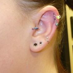 Get Ears Pierced Something Like This Minus The Gages Small Ear Gauges
