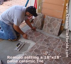 Outdoor Patio Flooring Options | Flooring Specialist Ceramic Tile Coral  Gables FL Porcelain Tile .
