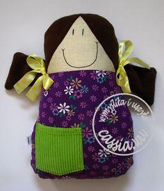 Violet Doll -   handmade by cassia.wu