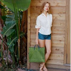 The Loden Simple Tote