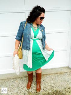 "Sarah Hulbert Style: ""Kiss Me, I'm Irish!""  See more style at: http://sarahhulbertstyle.com/2013/03/12/outfit-inspiration-kiss-me-im-irish/  #green #stpatricksday"