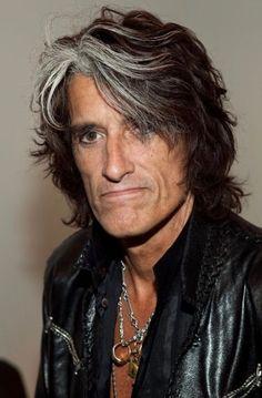 Joe Perry, Hello Sweetie, Steven Tyler, Rock Legends, Aerosmith, Aging Gracefully, Hair Highlights, Music Stuff, Rock Bands