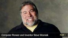 Computer Pioneer and Inventor Steve Wozniak