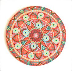 Original art mandala hand painted. Sacred by DreamingMandalas