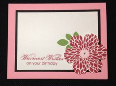 Betsy's Blossoms by hooked_on_stampin - Cards and Paper Crafts at Splitcoaststampers