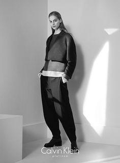 Vanessa Axente for Calvin Klein Platinum Label FW14