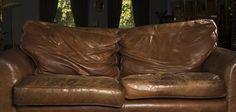 Como arrumar sofá de couro descascando