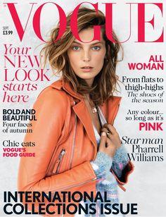 Piercings com força total, após 2 capas seguidas da Vogue em que a modelo aparece usando o acessório de metal.