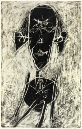 Jean Dubuffet French, Portrait of Henri Michaux Georges Mathieu, Henri Michaux, Jean Dubuffet, Man Illustration, Art Brut, Scratchboard, India Ink, Abstract Drawings, Art Institute Of Chicago