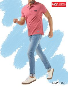 What better outfit than a Polo T-shirt & a pair of denim... Shop for many such outfits like these at all Kapsons stores & online at Kapsons.com. #Kapsons #WeekendShopping #EndOfSeasonSale