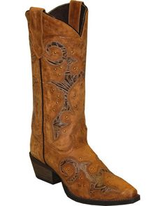 c0d41700b3baf8 Rawhide by Abilene Women s Cutout and Nailheads Western Boots - Snip Toe