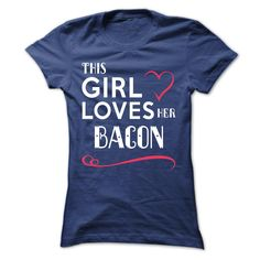 This girl loves her BACON