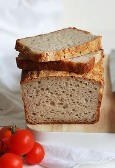 Ziemniaczany chleb bezglutenowy | Smakowity Chleb Gluten Free Recipes, Healthy Recipes, Bread Bun, Lactose Free, Vegan, Bon Appetit, Banana Bread, Bakery, Food And Drink
