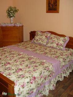 Vintage ágytakaró-rózsás (Barnabe) - Meska.hu