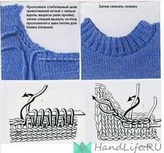 p/stricken-pullover-halsausschnitt-maschen-aufnehmen-carola delivers online tools that help you to stay in control of your personal information and protect your online privacy. Knitting Help, Knitting Stiches, Knitting Yarn, Crochet Stitches, Hand Knitting, Knitting Machine, Knitting Needles, Knit Or Crochet, Knitting Projects