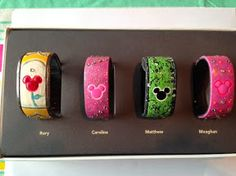 Has anyone decorated their Magic Bands? Please show us the pictures! - Page 124 - The DIS Discussion Forums - DISboards.com