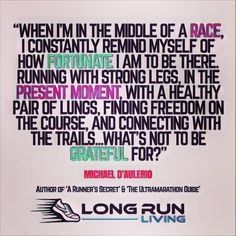 Ready to use mindful running to run further and run longer? Ready to finally find longevity in long distance running? The secret is through mindful running. Running Humor, Running Motivation, Running Workouts, Fitness Motivation Quotes, Funny Running Quotes, Running Plan, Running Tips, Trail Running, Running Inspiration