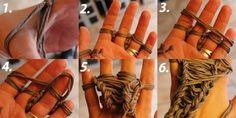 DOITYU.de » DOITYU.de – Dein Portal für Do-it-Yourself Ideen & Tipps! Werde Teil einer kreativen Community, teile deine DIY Anleitungen und lasse dich inspirieren… » Tutorial – Fingerstricken: Schal ohne Nadel stricken