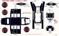 Il favoloso mondo di carta di Totò: Ford modèle T 1915