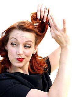 Vintage Hair Tutorials- love Lisa Freemont Street. *These are the best tutorials!!!*