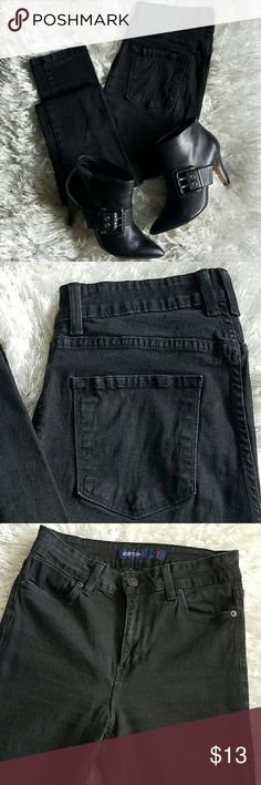 "✨HP✨ Just USA High-Waisted Skinny Jeans In these soft black jeans, you'll definitely be feeling the high... Worn 4-5 times, still in great condition. Feature two front pockets, one coin pocket, and two rear pockets. Approx. measurements - 42"" long, 10"" front rise, 31"" inseam, 13"" across waist. 96% Cotton. Size 9. No trades. 🎉HOST PICK🎉 Best In Jeans Party 5.22.17 / 8.25.17 ✨ Girls' Night Out Party 11.4.17 Just USA Jeans Skinny"