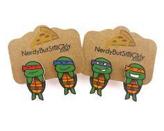 Ninja Cuties Cling Earring – Nerdy But Still Girly
