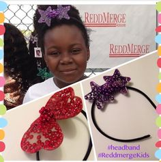 Reddmerge kids headbands multiple colors available perfect for weddings , and Events  #nowAvailable www.etsy.com/listing/196910062   #customOrders welcome