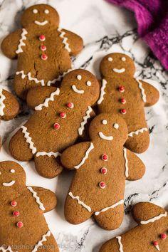Gingerbread Men Recipe source: Marsha's Baking Addiction