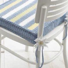 Crochet Seat Cushion