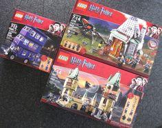 LEGO HARRY POTTER HOGWARTS 4867 KNIGHT BUS 4866 HAGRID'S HUT 4738 lot new sealed......$169.95 with FREE S