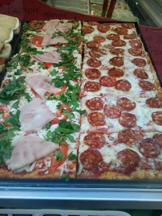 Pizza al Taglio. Florence.
