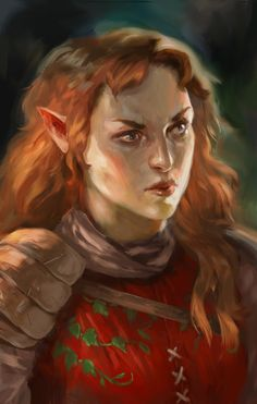 """Jaheira by Leanna Crossan """"Jaheira from Baldurs Gate! ..fav quotes """"You are amusing, in a 'what the hell is wrong with you' kind of way."""" """"If a tree falls in the forest… I'll kill the bastard what..."""