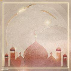 Golden square Eid Mubarak frame | free image by rawpixel.com / katie Eid Mubarak Logo, Mubarak Ramadan, Eid Mubarak Greeting Cards, Eid Mubarak Greetings, Eid Cards, Ied Mubarak, Eid Wallpaper, Eid Mubarak Wallpaper, Iphone Wallpaper