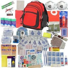 All items are packed securely in our Backpack which contains extra space available for your personal items Food & Water: 24 - Pouches of Datrex Water - twice the amount of water as leading suppliers &...