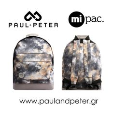 Διαγωνισμός Paul and Peter με δώρο μια τσάντα πλάτης Mi-Pac - https://www.saveandwin.gr/diagonismoi-sw/diagonismos-paul-and-peter-me-doro/