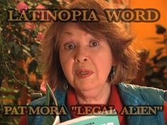 """Pat Mora reads her poem """"Legal Alien"""" which explores issues relating to national identity, immigration and mother tongue. Counseling, Childrens Books, Identity, Poems, Author, Reading, Children's Books, Children Books, Kid Books"""
