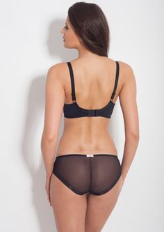 Samanta lingerie - New collect Heka black bra: A470 pants: B300 www.samanta.eu