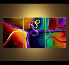 Abstract art by Osnat Tzadok  The Art of Seduction