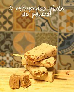 Borboletando | Receita: picolé de paçoca sem leite <3 | http://borboletando.com.br