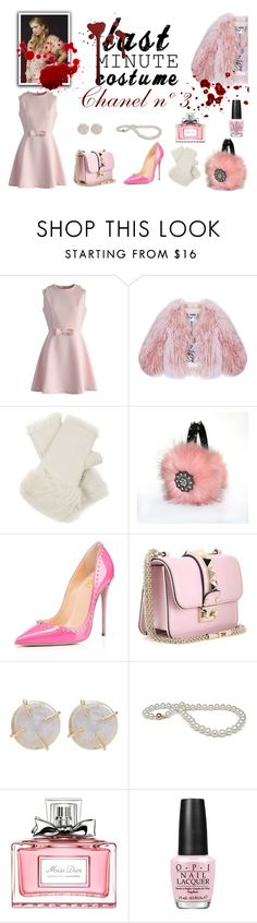 """""""Chanel nº 3"""" by connectiondani ❤ liked on Polyvore featuring Chicwish, Florence Bridge, Karl Donoghue, Valentino, Melissa Joy Manning, Christian Dior and OPI"""