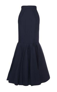 Peplum Long Skirt by DICE KAYEK for Preorder on Moda Operandi