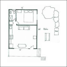 Unique Small House Plans, Small Cottage Floor Plans, Very Small