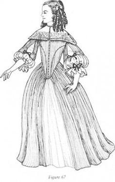 Costume - 1670s - history of costume